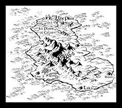 World Map Black And White Portfolio Fantasy Maps