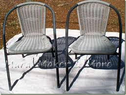 Paint For Metal Patio Furniture Spray Paint Patio Chairs Just Paint It Blog