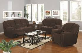 Leather Reclining Sofa Loveseat by Brown Microfiber Modern Reclining Sofa U0026 Loveseat Set W Options