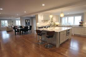 open floor plan kitchen family room apartments open floor plan colonial traditional colonial floor