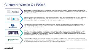 home network design best practices open text corporation 2018 q1 results earnings call slides
