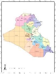 iraq map vector iraq digital vector maps editable illustrator pdf