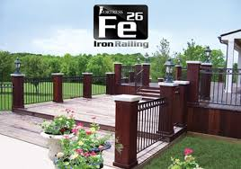 aluminum u0026 steel deck railing the deck store online