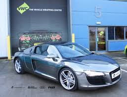 audi r8 chrome blue audi r8 avery dennison black chrome personal vehicle wrap project