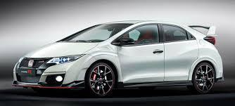 honda civic type r white the 2016 honda civic type r is 310 hp worth of turbo vtec craziness
