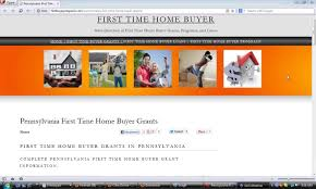 new home buyers grant pennsylvania time home buyer grants