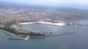 Guinea Ecuatorial Flag View From Malabo City Una Mirada De La Ciudad De Malabo