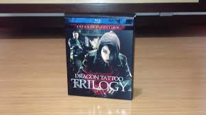 dragon tattoo triology blu ray unboxing youtube
