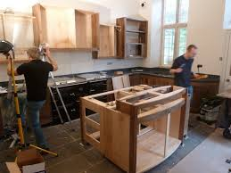 Bespoke Kitchen Cabinets Walnut And Sycamore Kitchen Simon Thomas Pirie Furniture
