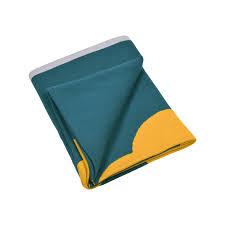 plaid turquoise pour canapé plaid trèfle plaid pour canapé d extérieur