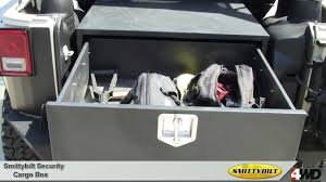 jeep wrangler lock smittybilt secure locking cargo box for jeep wrangler jeep