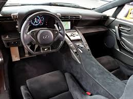lexus lf fc interior lexus lfa nurburgring package photos photogallery with 102 pics