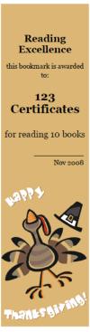 free thanksgiving bookmarks thanksgiving awards bookmark maker