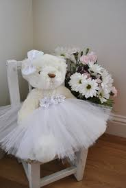 flower girl teddy flower girl my sweet teddy with by oursweetsomethings4u