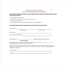 how to make a sponsor form free sponsorship form template word