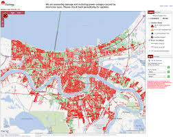 Entergy Outage Map Louisiana New Orleans Power Outages Seen By The Viirs Day Night Band U2013 The