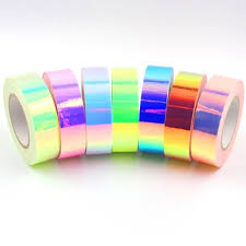 Cermin Senam iridescent roll reflektif cermin untuk senam hoop buy