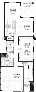 simple 2 story house plans unique stock 2 story house plans narrow lots home inspiration