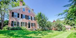 federal style house historic house lottery hill farm michael j fox s former