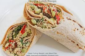 Cheap But Good Dinner Ideas Healthy Lunch Recipe For Weight Loss Meal Plan Veggie Quinoa Wrap