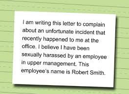 contoh surat komplain atau surat keluhan complain letter dalam