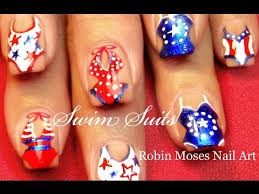 cute 4th of july nails diy red white and blue nail art design