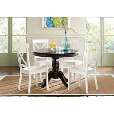 brynwood black 5 pc round dining set dining room sets colors