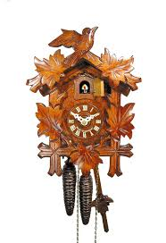 Kukuclock Original German Cuckoo Clock Certified Mechanical 8 Day