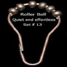 Roller Curtain Hooks Brass Shower Curtain Rings Foter