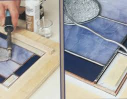 stained glass work table design choosing a stained glass work space george w shannon design