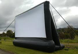 tassie open air cinemas mobile drive in movie cinema for hire