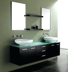 Black Bathroom Vanities With Tops Vanities Wall Mount Bathroom Vanity Without Top Traverse Modern