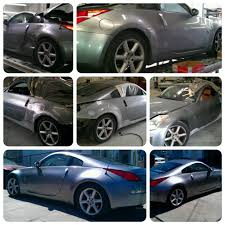 nissan 350z quarter panel replacement modern classic 2003 nissan 350z five star auto body and paint
