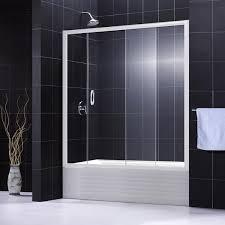dreamline infinity bathtub u0026 shower door