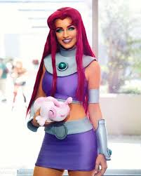 starfire costume self space princess starfire from witchy