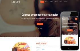 spa care a beauty and spa category flat bootstrap responsive web
