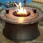 Little Red Fire Pit - fire pit classic gas outdoor fire pits round black big portable