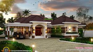 outstanding bungalow in kerala kerala home design and 1 story