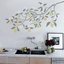 Decorative Wall Stencils Lemon Branch Wall Stencil Reusable Diy Home Decor