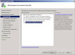 configurer bureau à distance windows 7 installation et paramétrage d un serveur 2008 r2 avec le rôle