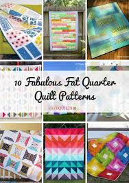 10 fabulous fat quarter quilt patterns favequilts com