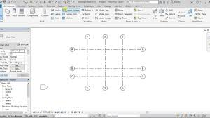 2 create grids and level in revit architecture 2018 youtube