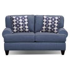 Blue Sleeper Sofa Bailey Blue 67 Innerspring Sleeper Sofa Value City Furniture