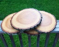 large wood slice etsy