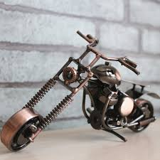 iron gifts mettle metal crafts iron chain motorcycle model ornaments