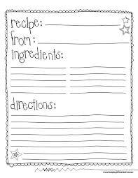 printable book template ks2 recipe writing template tire driveeasy co