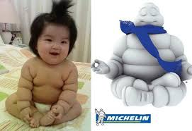 Michelin Man Meme - the michelin baby funny