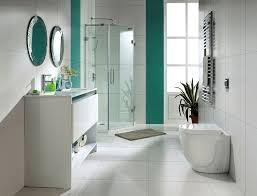 white bathroom tile ideas modern white floor tile