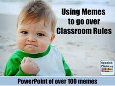 Classroom Rules Memes - back to school memes for teachers