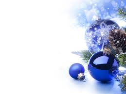 blue ornaments with white background search